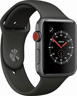 Apple Watch Series 3 - GPS+Cellular - Space Gray Aluminum Ca