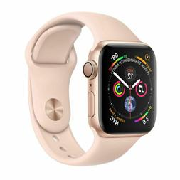Apple Watch Series 4 40 mm Gold Aluminum Case with Pink Sand