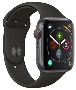 Apple Watch Series 4 44 mm Space Gray Case with Black Sport