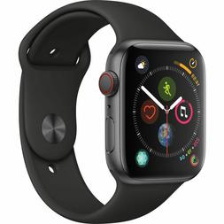 Apple Watch Series 4 44 mm Space Gray Black Sport Band GPS/C