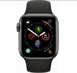 Apple Watch Series 4 44mm . Space Grey Aluminum with Black S