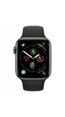 Apple Watch Series 4 44mm Space Gray Aluminum Case Black Spo