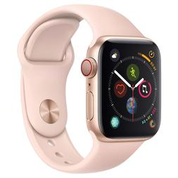 Apple Watch Series 4 GPS + Cellular with Pink Sand Sport Ban