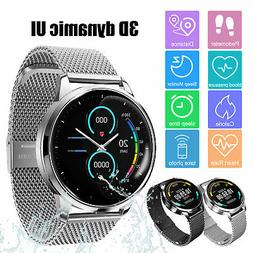 Waterproof Bluetooth Smart Watch GPS Activity Tracker Heart