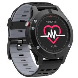 Waterproof Bluetooth Smart Watch GPS Sport Running Fitness T