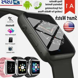 Waterproof Bluetooth Smart Watch Phone Mate For iphone IOS A