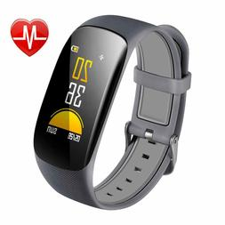 Waterproof Fitness Tracker H2 Plus Smart Watch with OLED Scr