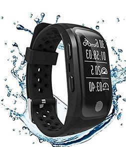 GooPhone Waterproof Fitness Tracker Watch with Heart Rate Sl
