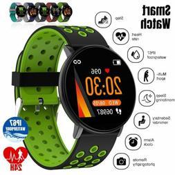 Waterproof Smart Watch GPS Heart Rate Blood Pressure Monitor