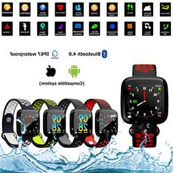 Waterproof Smart Watch HeartRate Camera GPS Fitness Wristban