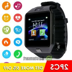 Waterproof Smart Wrist Watch Bluetooth Phone Mate Fit For IO