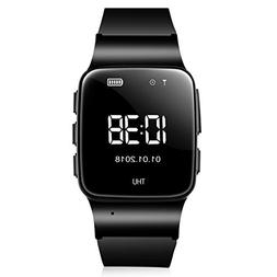 WiFi Smart Watch Elderly GPS Tracker Phone Call Smartwatch,