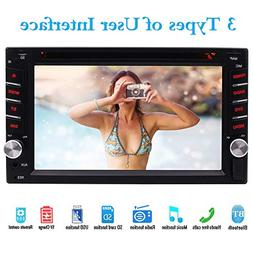 WinCe 2 Din Car Multimedia Player 1080P Video Car Radio Ster