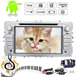 Wireless Camera + Android 7.1 Quad Core Car DVD Player for F