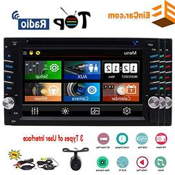 Wireless Backup Camera + Double Din Car Stereo New Designed