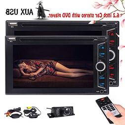 Wireless Camera Included Eincar 6.2 inch Car DVD Player Auto