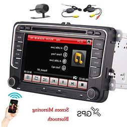 Wireless Rear Camera+ 7'' inch Car Stereo system FM/AM Radio