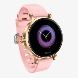 Women Bluetooth Smart Watch Waterproof Blood Pressure Heart
