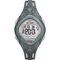 Timex Womens Ironman Sleek 30 Gray Speckled Resin Strap Watc