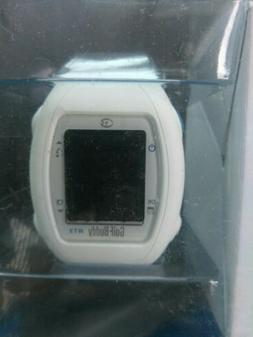 GolfBuddy WT3 GPS watch with charger - White  new