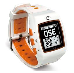 GolfBuddy WT5 Golf GPS Watch, White/Orange