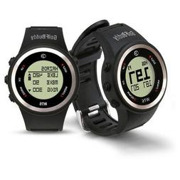 GolfBuddy WT6 GPS Rangefinder Watch,  Black